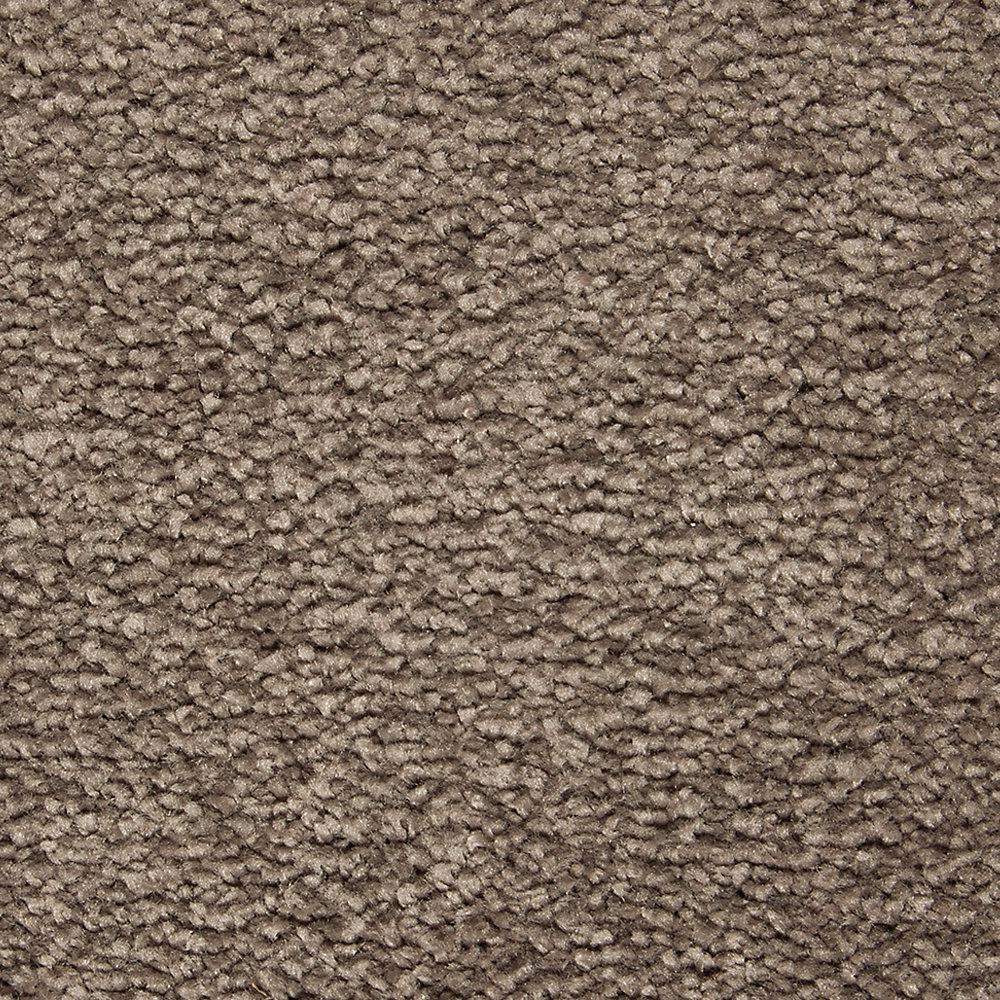 Carpet Sample - Castle II - Color Java Textured 8 in. x 8 in.