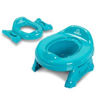 Toddler 2-in-1 Multipurpose Travel Potty in Blue