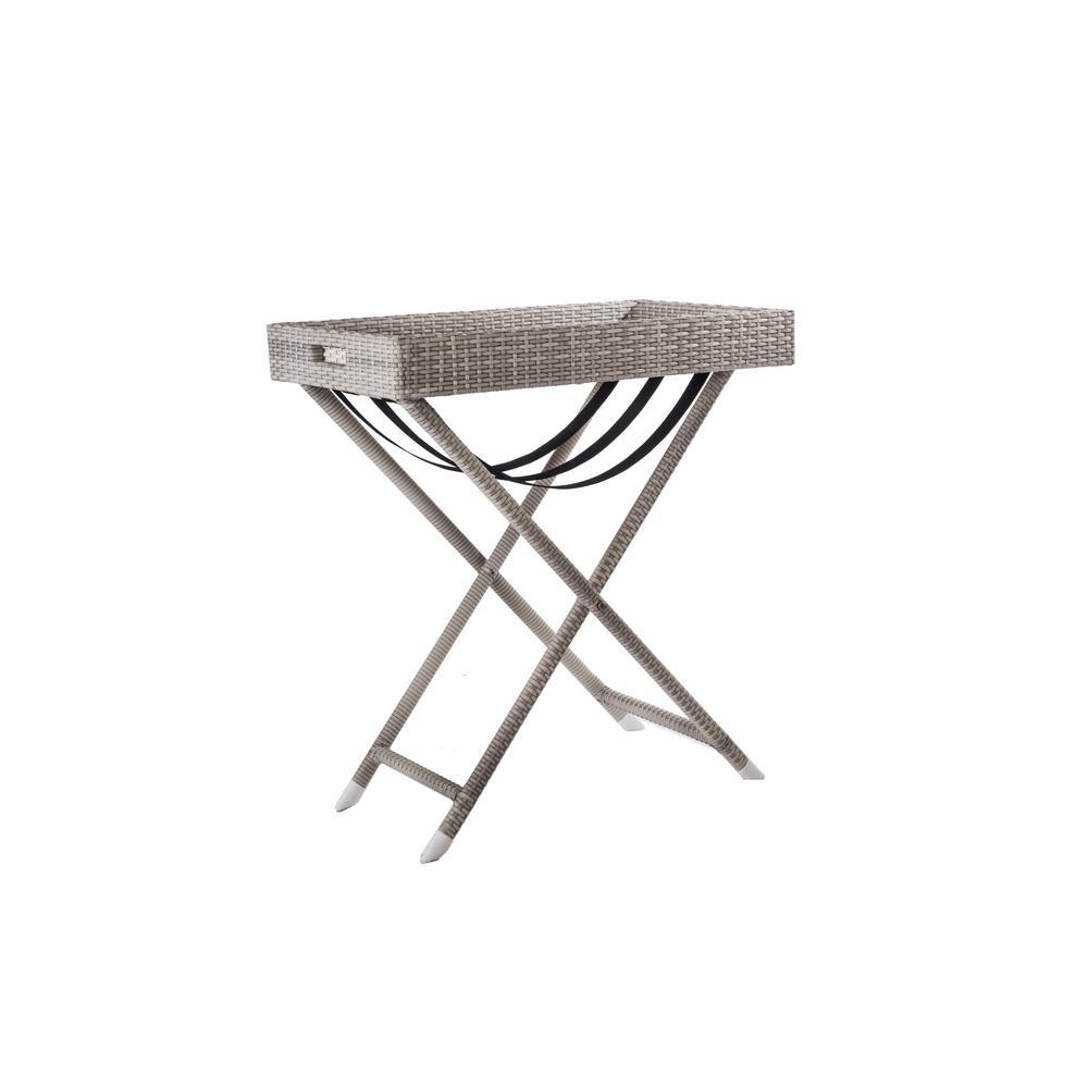 Aluminum Outdoor Bar Carts Outdoor Bar Furniture The Home Depot