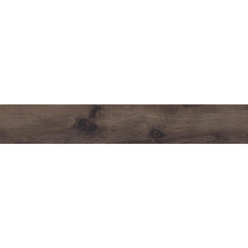 Country River Moss 8 in. x 48 in. Glazed Porcelain Floor