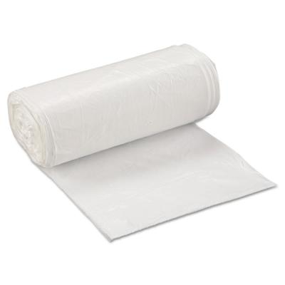 Low-Density Trash Can Liner, 24 x 32, 16 Gallon, .5mil, White, 50/Roll, 10 Rolls/Carton