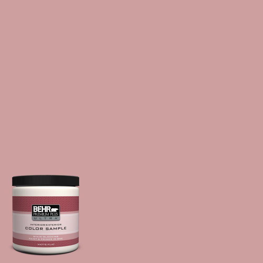 8 oz. #150E-3 Calico Rose Interior/Exterior Paint Sample
