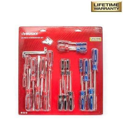 Variety Screwdriver Set (25-Piece)