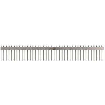 60 in. Concrete Texture Comb Brush with 3/4 in. Center