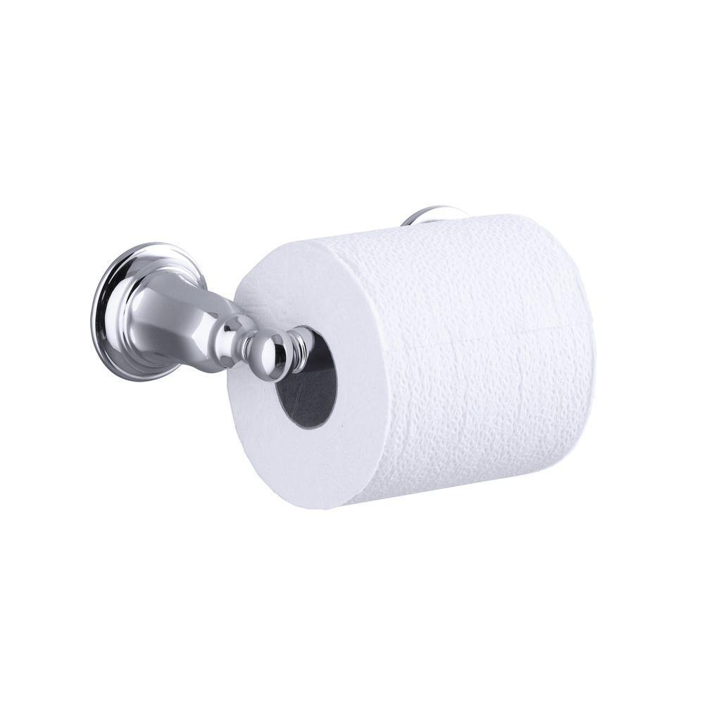Kohler Kelston Double Post Toilet Paper Holder In Polished Chrome