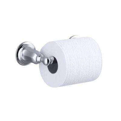 Kelston Double Post Toilet Paper Holder in Polished Chrome
