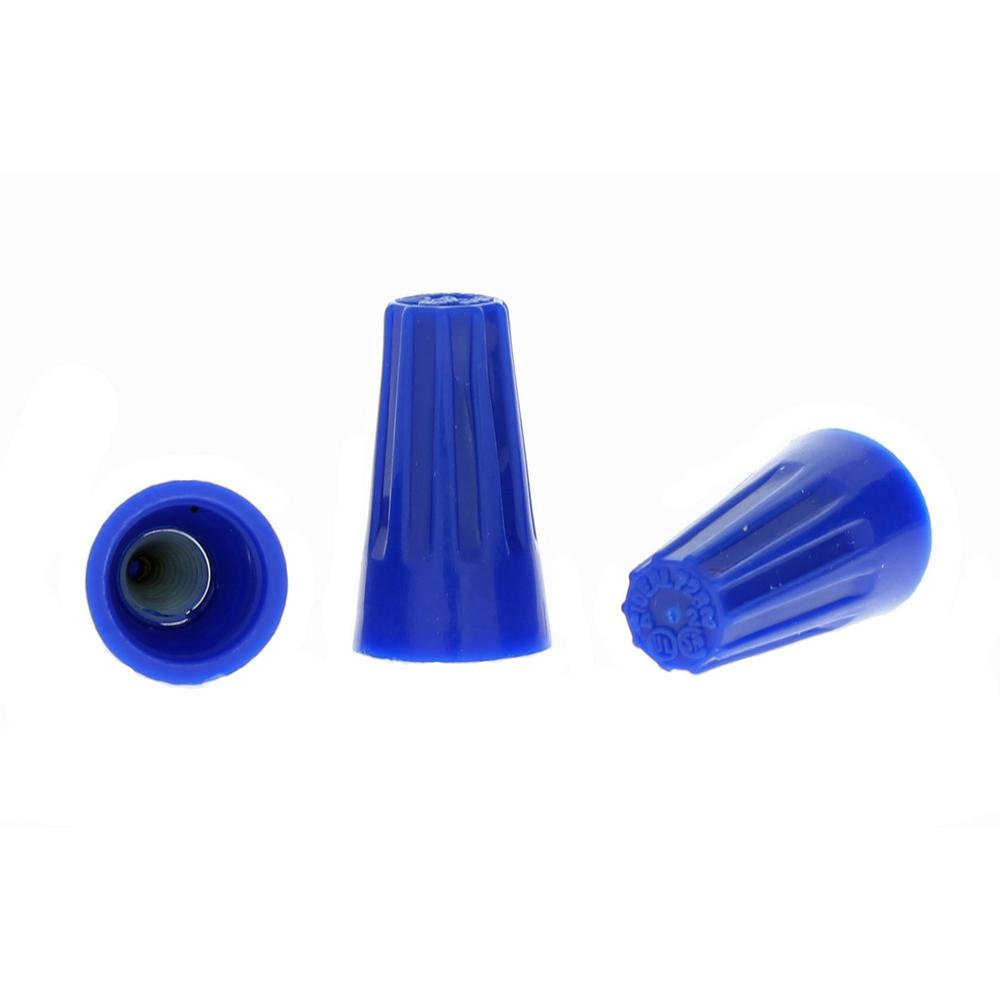 Ideal 72 Blue WIRE-NUT Wire Connectors (100 per Bag, Standard Package is 3 Bags)