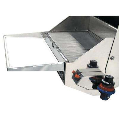 Stainless Steel Serving Shelf with Removable Cutting Board