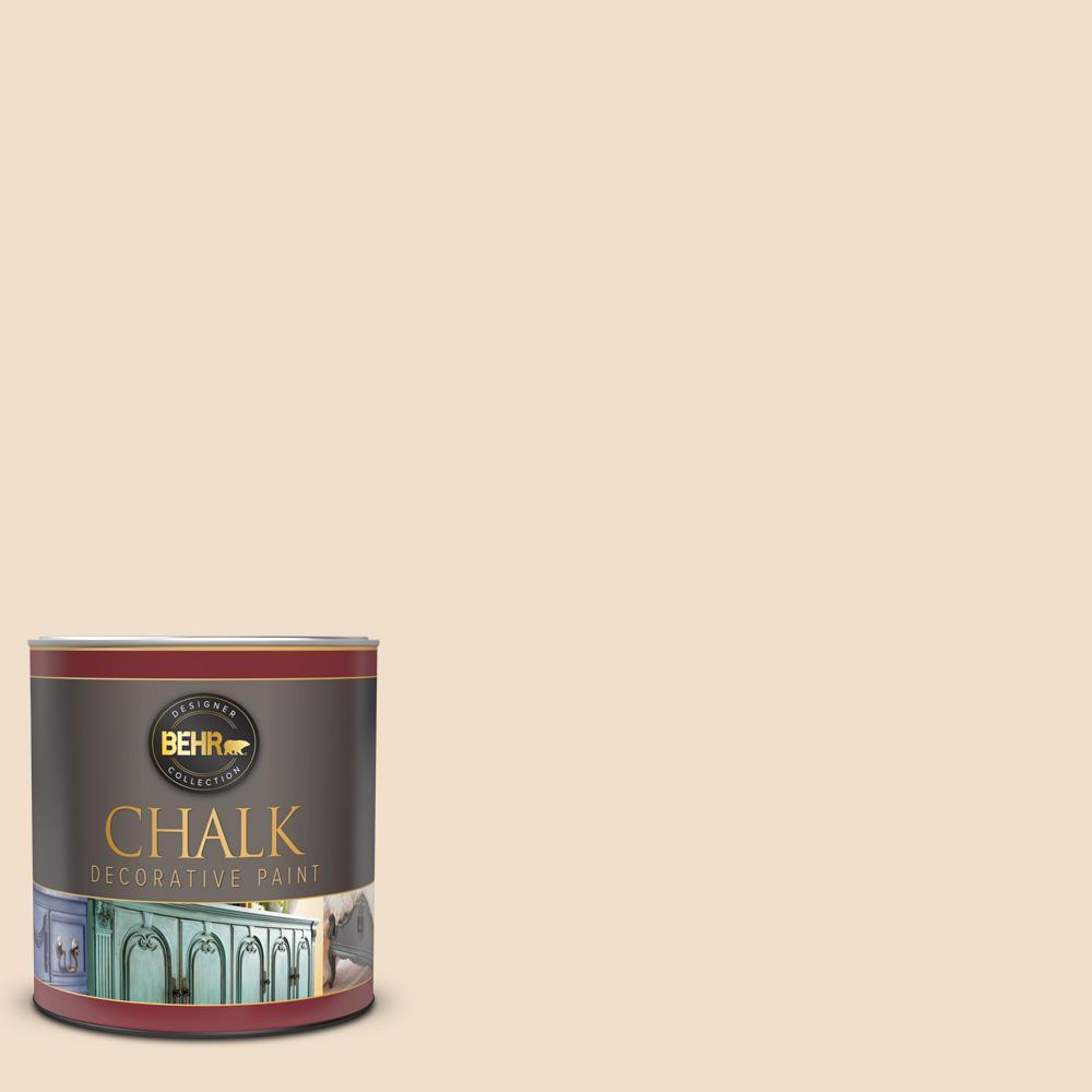 BEHR 1 qt. #BCP10 Pale Moon Interior Chalk Decorative Paint