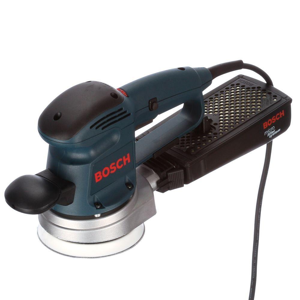 Click here to buy Bosch 3.3 Amp Corded 5 inch Variable Speed Random Orbital Sander by Bosch.