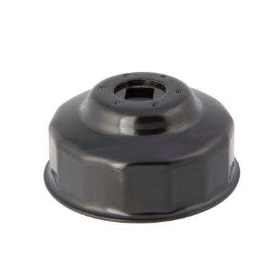 64 mm x 14 Flute Oil Filter Cap Wrench in Black