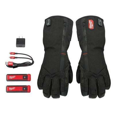 Large Heated Gloves with Battery and Charger