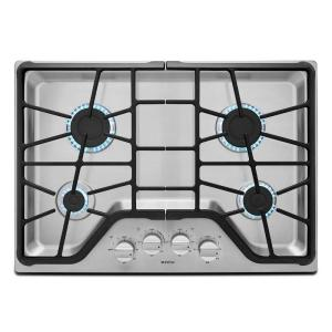 store so sku 3 maytag 30 in gas cooktop in stainless steel with 4