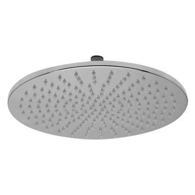 1-Spray 12 in. Fixed Showerhead with LED Lighting in Polished Chrome
