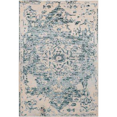 Casselman Denim 5 ft. x 7 ft. Area Rug