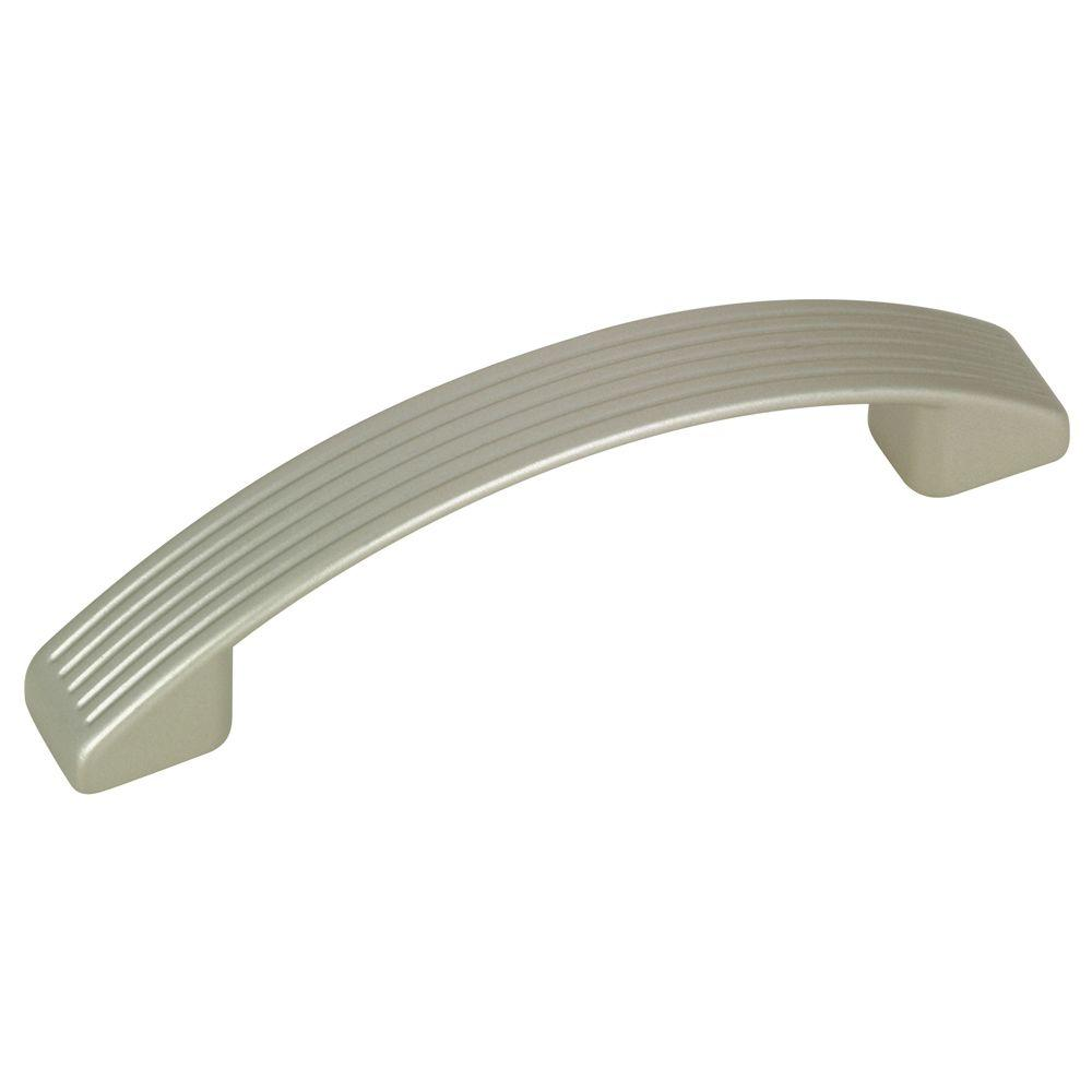 Contemporary and Modern 96 mm Metallic Nickel Pull