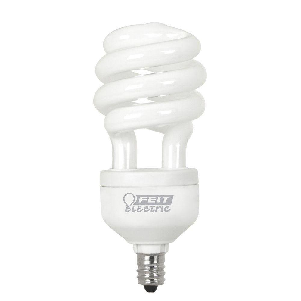 Feit Electric 60W Equivalent Bright White Spiral CFL Light Bulb (24-Pack)