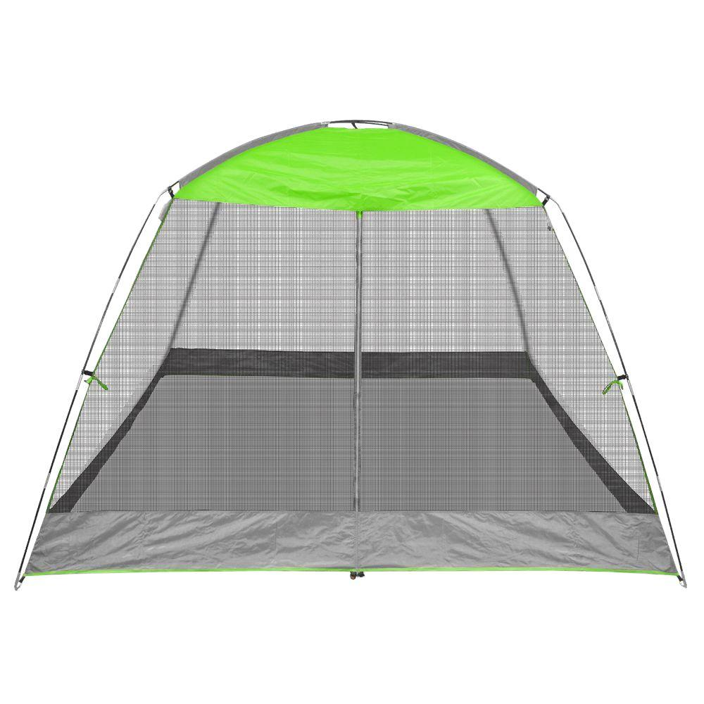 Caravan Canopy Screen House Shelter Pro 10 ft. x 10 ft. Lime Green Canopy  sc 1 st  The Home Depot : screen houses canopies - memphite.com