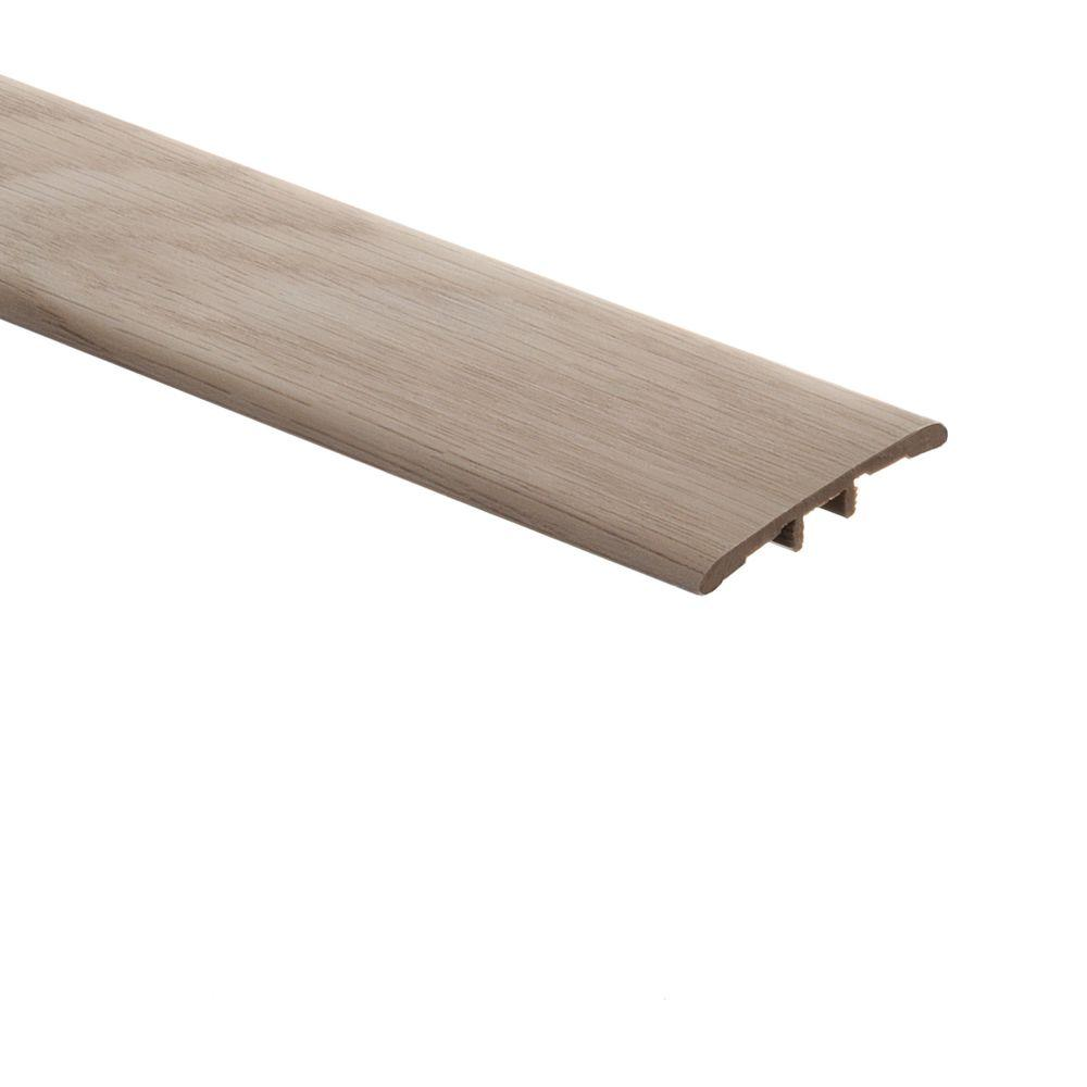 Zamma Stratford Oak/Quiet Oak 5/16 in. Thick x 1-3/4 in. Wide x 72 in. Length Vinyl T-Molding