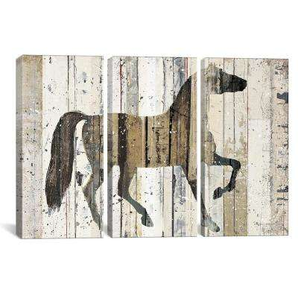 """Dark Horse"" by Michael Mullan Canvas Wall Art"