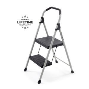 Cool Gorilla Ladders 2 Step Lightweight Steel Step Stool Ladder With 225 Lbs Load Capacity Type Ii Duty Rating Gls 2 The Home Depot Evergreenethics Interior Chair Design Evergreenethicsorg