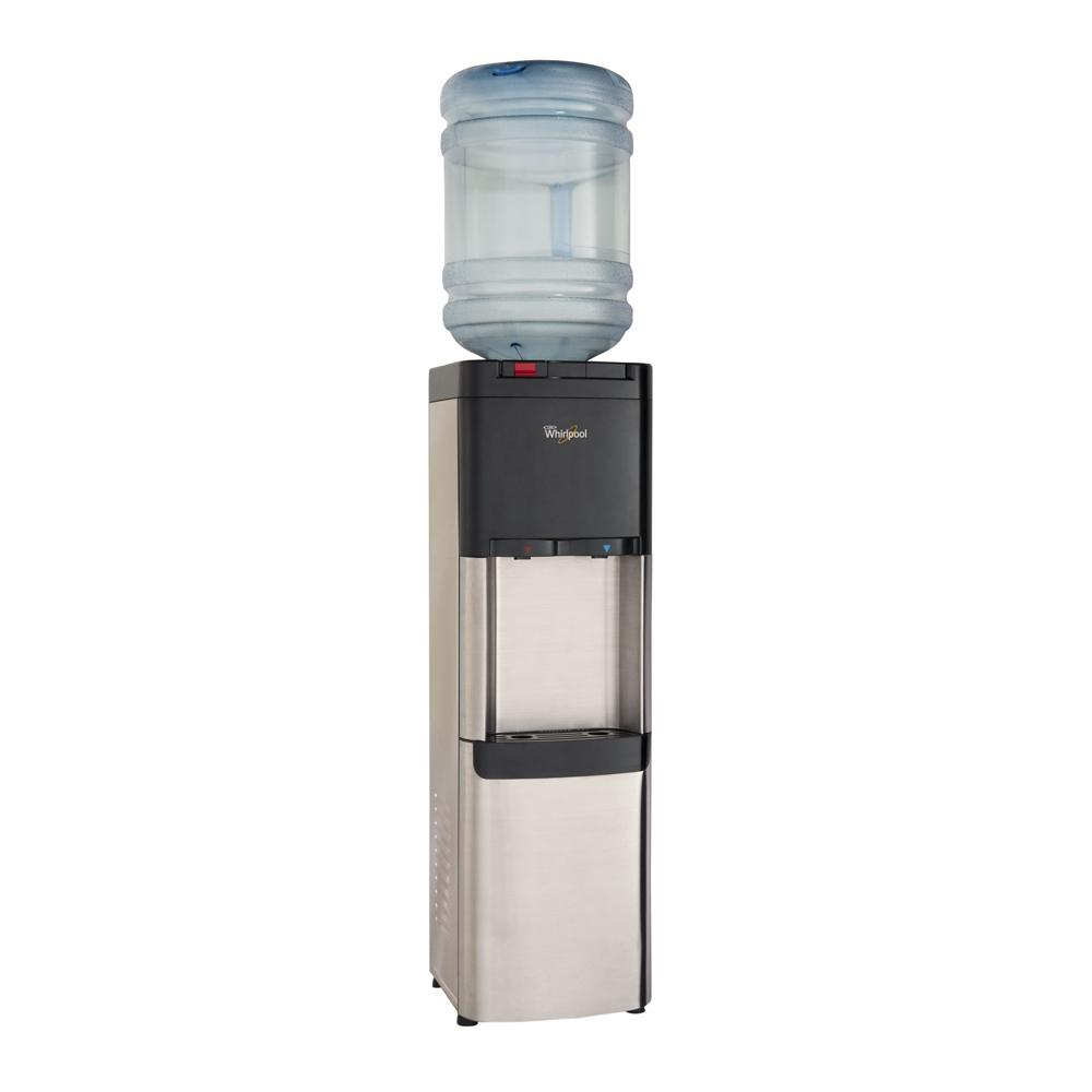 Whirlpool Self Cleaning Commercial Water Cooler Ice Chilled And Steaming Hot Stainless