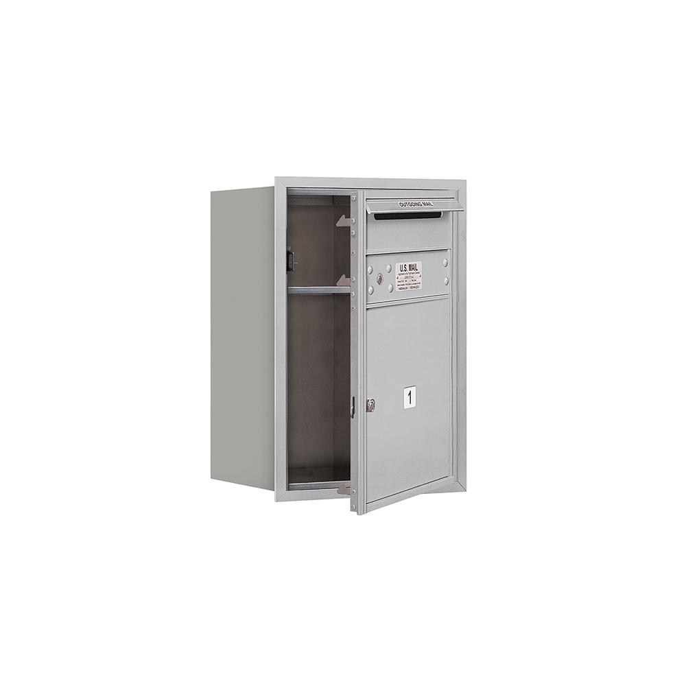 3700 Horizontal Series 1-Compartment Recessed Mount Mailbox