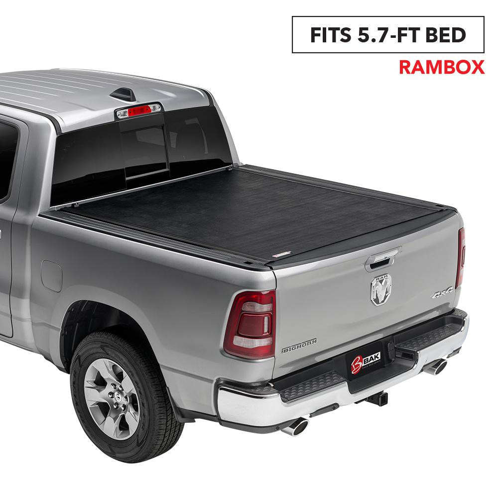Rolling Truck Bed Covers >> Bak Industries Revolver X2 Tonneau Cover For 09 18 19 Classic Ram 5 Ft 7 In Bed With Rambox
