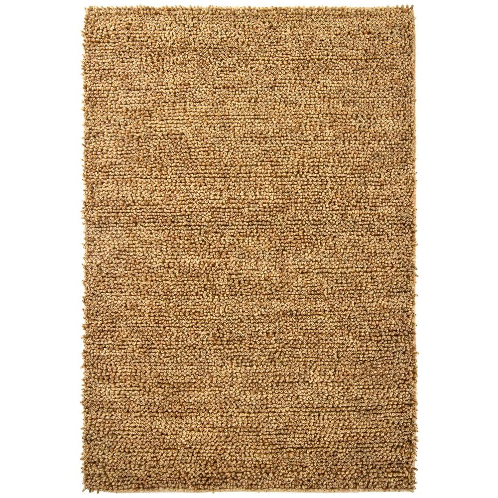 Chandra Ambiance Brown/Gold 9 ft. x 13 ft. Indoor Area Rug