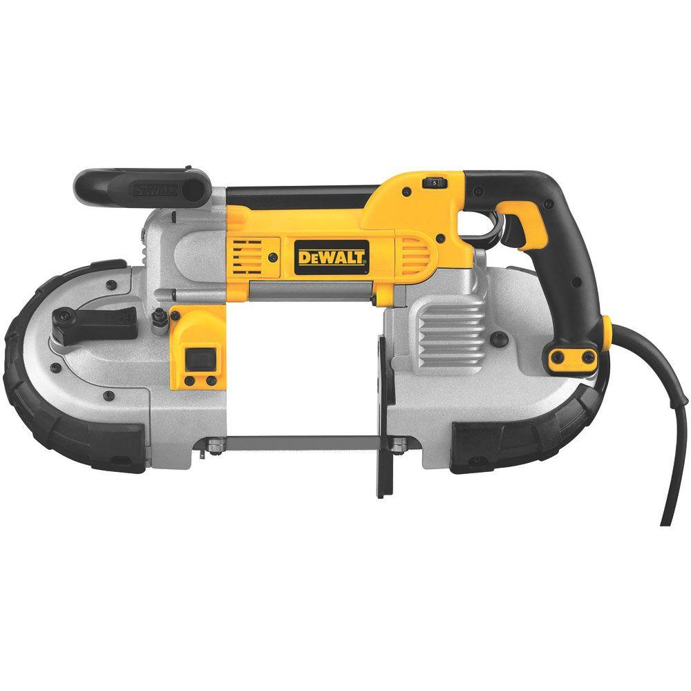 DEWALT 18-Volt NiCd Cordless Band Saw (Tool-Only)-DCS370B - The ...