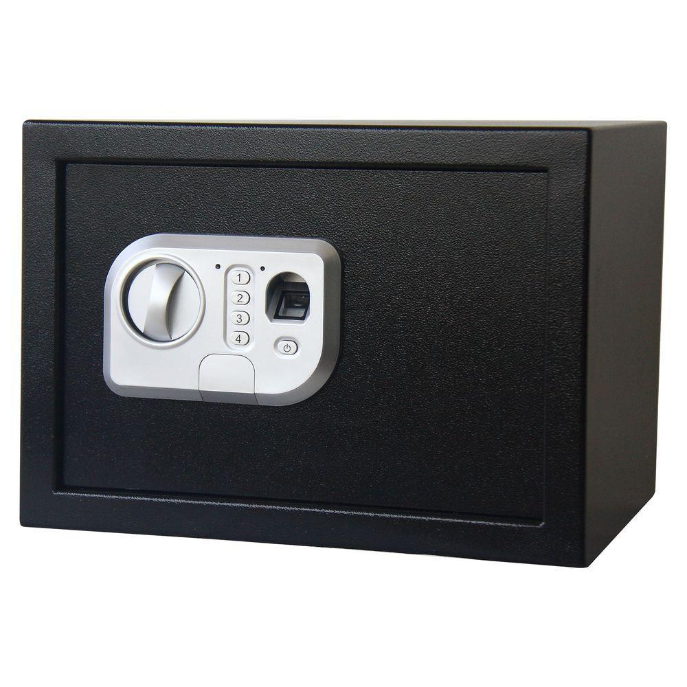 0.6 cu. ft. Fingerprint and Digital Lock Steel Safe