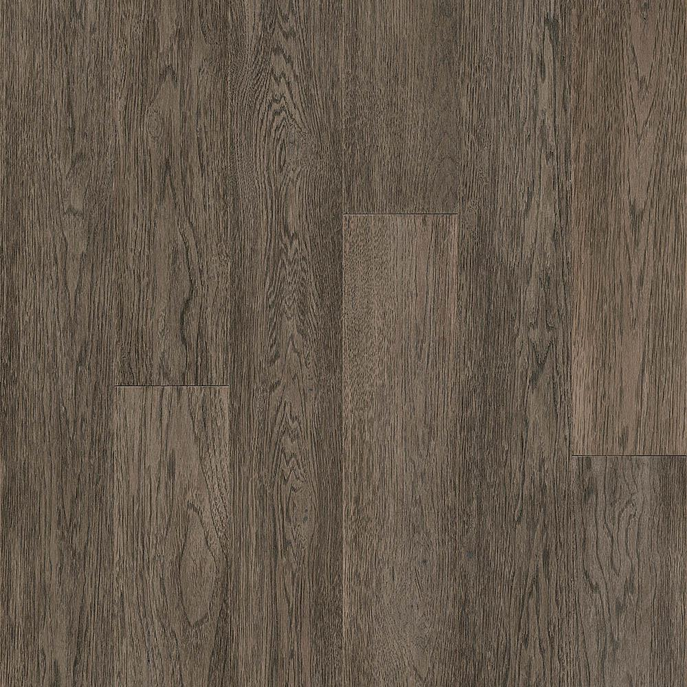 Hydropel Hickory Taupe 7 16 In T X 5 W Varying Length Waterproof Engineered Hardwood Flooring 22 6 Sq Ft