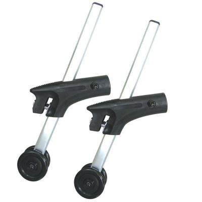 Pair of Anti-Tippers with Wheels for Cougar Wheelchairs