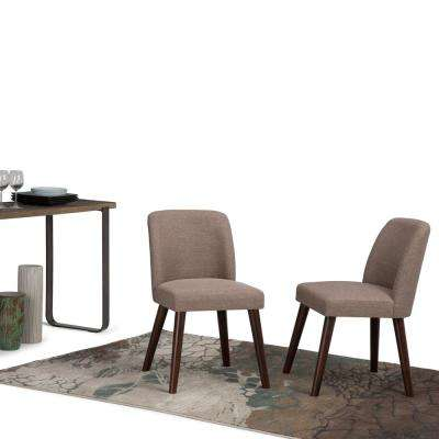 Emery Fawn Brown Dining Chair (Set of 2)
