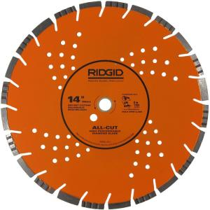 Ridgid 14 inch All-Cut Diamond Blade by RIDGID