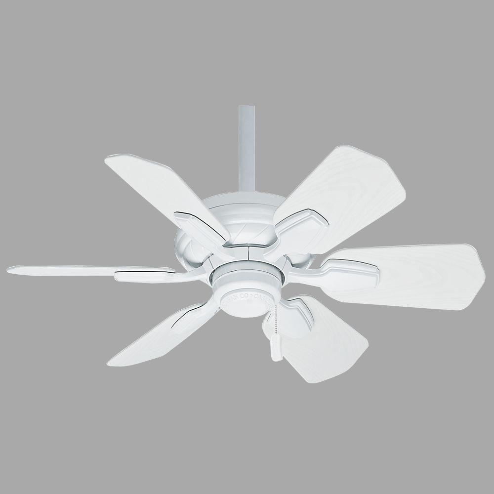 Wailea 31 in. Indoor/Outdoor Snow White Ceiling Fan
