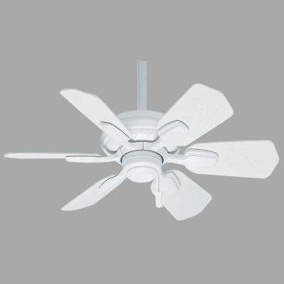 Wailea 31 in. Indoor/Outdoor Snow White Ceiling Fan