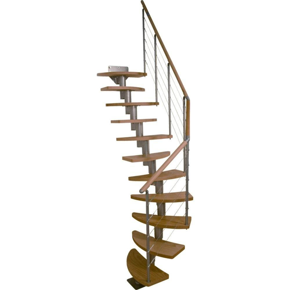 Dolle Rome 25 in. Modular 12-Tread Stair Kit-68300-1 - The Home Depot