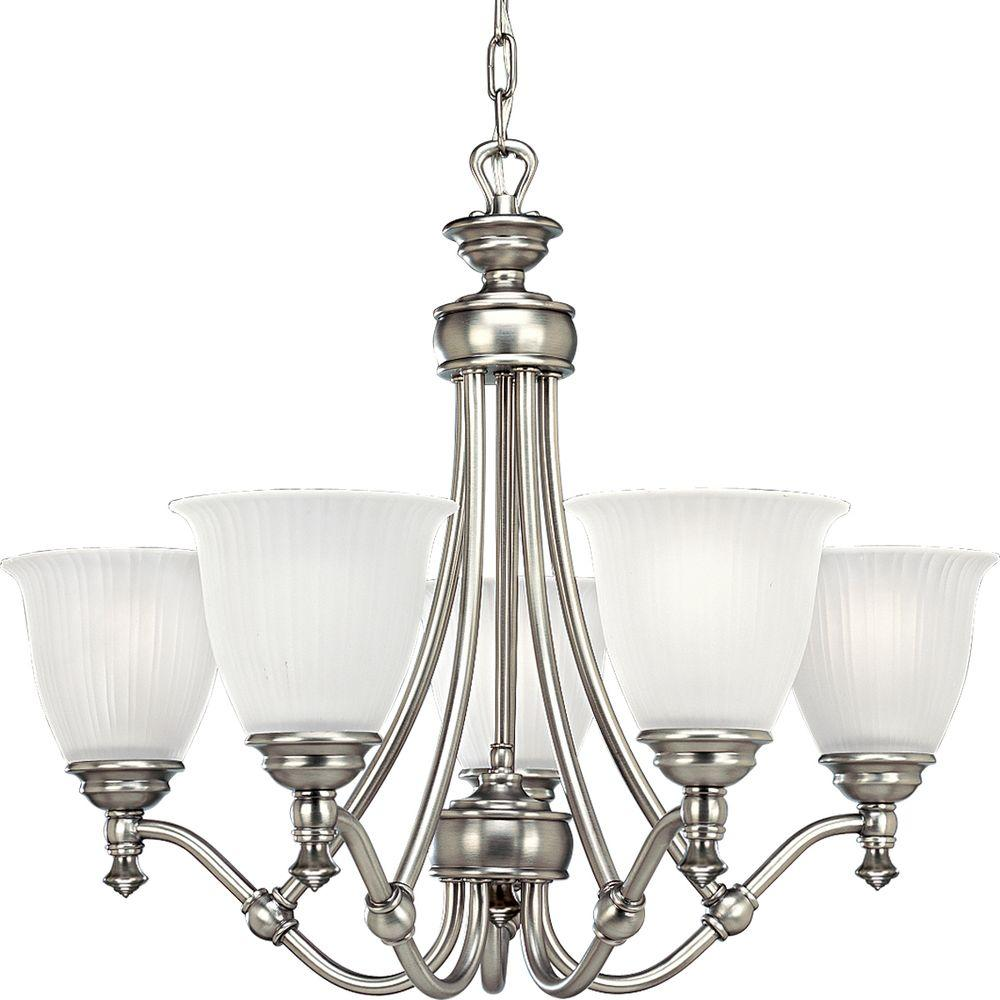 progress lighting renovations collection 5 light antique 87980