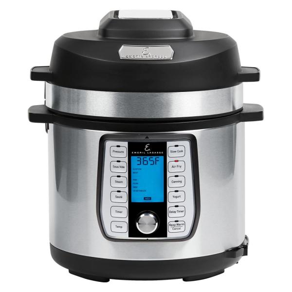 6 Qt. Stainless Steel Pressure Air Fryer
