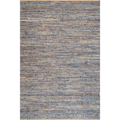 Vernell Contemporary Jute Natural 4 ft. x 6 ft.  Area Rug