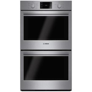500 Series 30 In Double Electric Wall Oven With European Convection And Self Cleaning