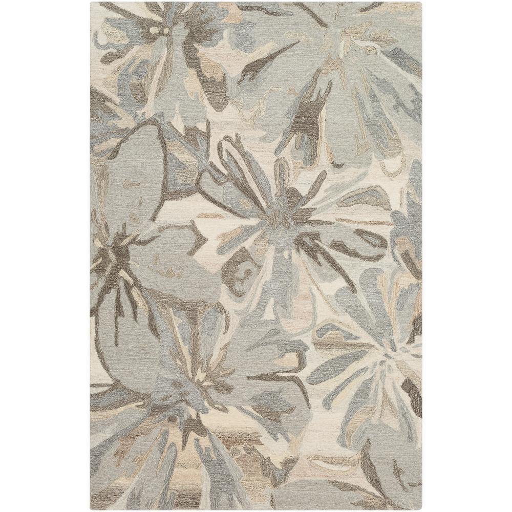 Amaranthus Grey 2 ft. x 3 ft. Indoor Area Rug