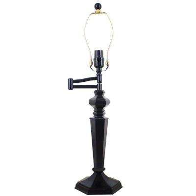 Mix and Match 25.5 in. Bronze Swing Arm Table Lamp - Title 20