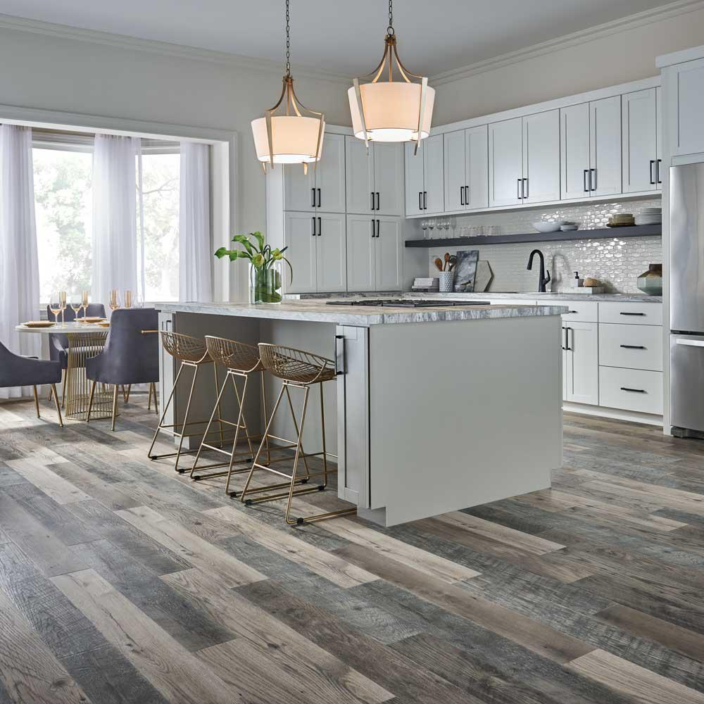 Pergo Outlast+ Highrock Grey Oak 10 mm Thick x 6.14 in. Wide x 47.24 in.  Length Laminate Flooring (967.2 sq. ft. / pallet)