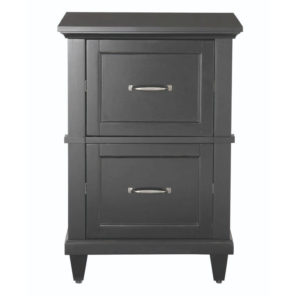 Home Decorators Collection Martin Black File Cabinet 2528600210 The Home Depot