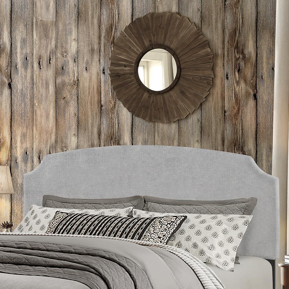 Hillsdale Furniture Desi Glacier Gray Queen Bed in One