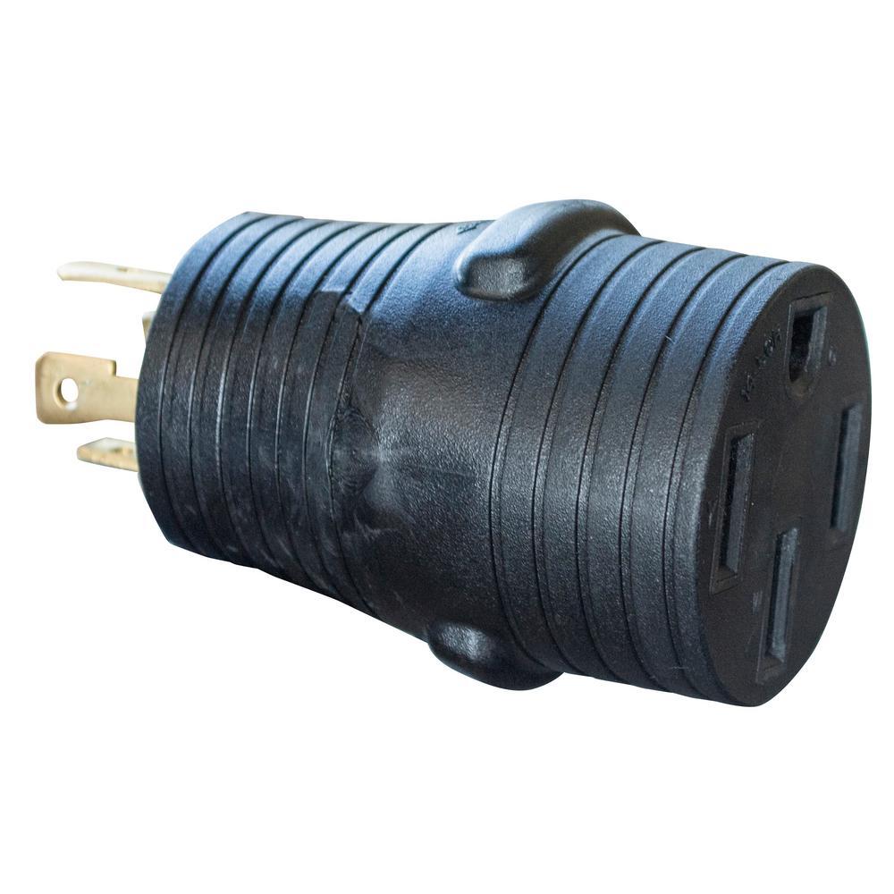 L14-30P Male to 14-50R Female Conversion Adapter Plug
