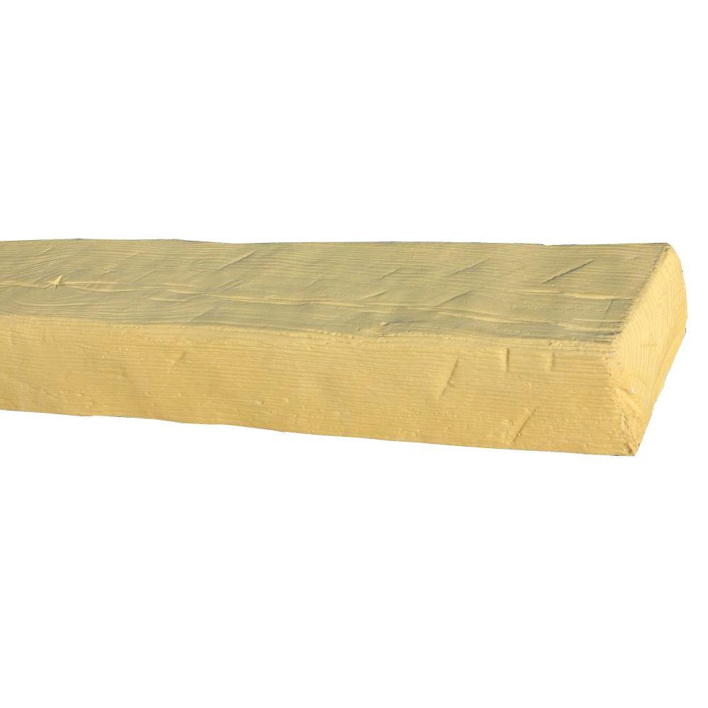 Superior Building Supplies 5-1/2 in. x 3-3/4 in. x 14 ft. 9 in. Unfinished Faux Wood Beam