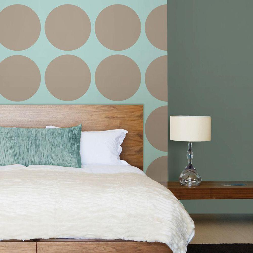 13 in. x 13 in. Pebble Dot 4-Piece Wall Decal